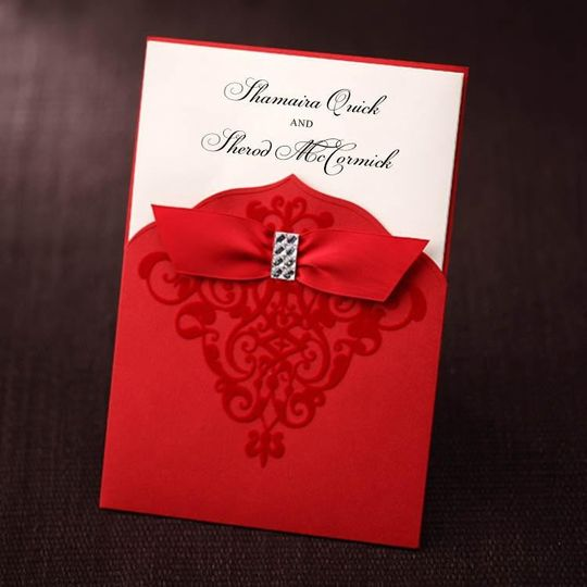 Divine Touch Creations Invitations Greensboro Nc Weddingwire
