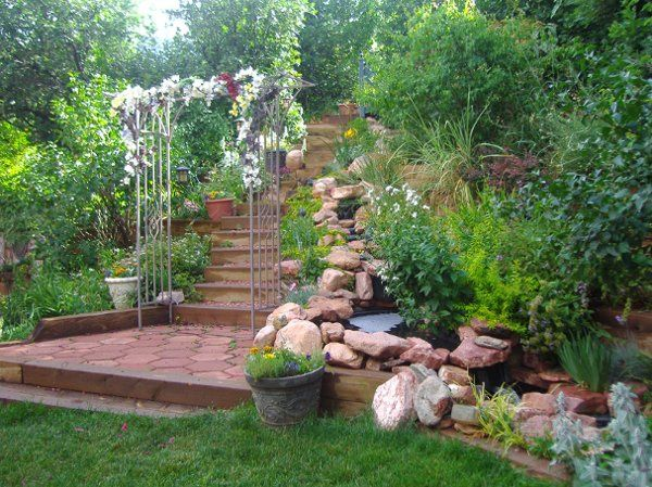 Waterfall Garden