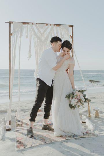 Beach wedding - Samantha Burgess Photography