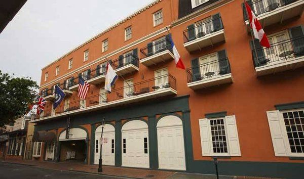Exterior view of the Dauphine Orleans Hotel