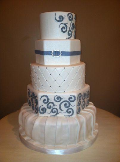 Angled cake
