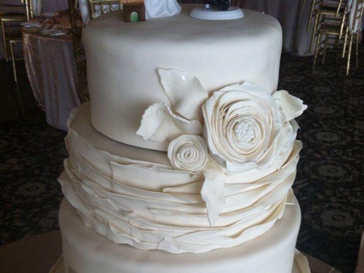 Tmx 1452624497329 Img5325 Warwick, Rhode Island wedding cake