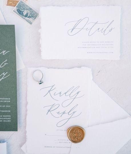 'Honor' Details & RSVP Card