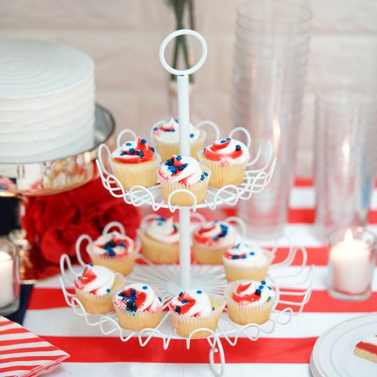 4th of July themed table