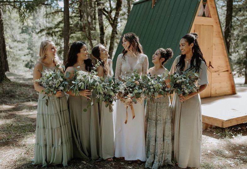 The Bride and her Sisters