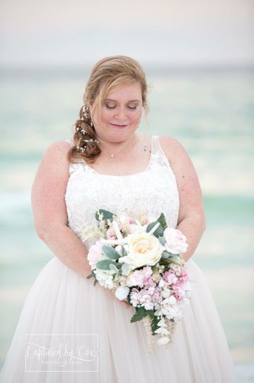 Bridal hair by Lenni