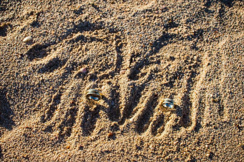 Sandbar Elopement