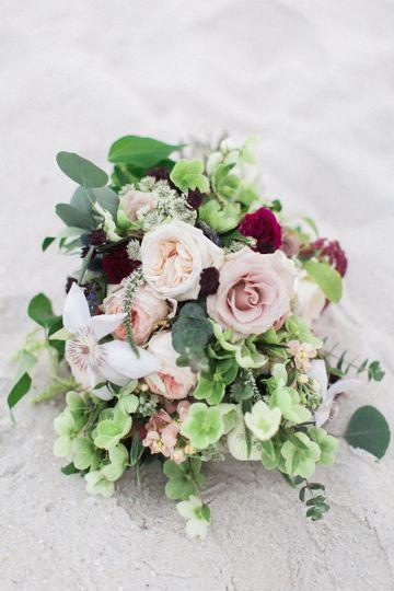 Ester's bridal bouquet | Image courtesy of Amanda Hartfield Photography