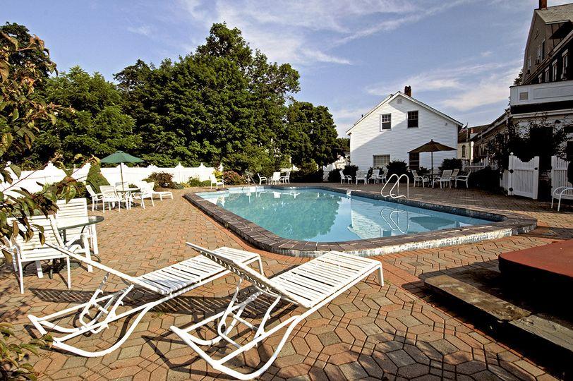 swimming pool view of inn