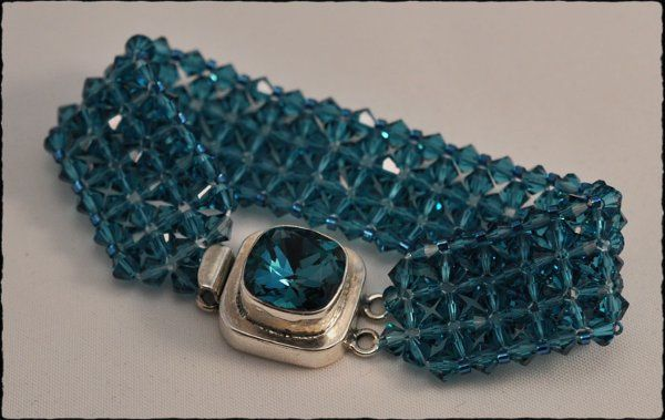 Crystal Cuff with Large Clasp