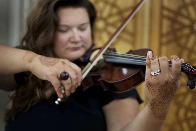 Kelly Zetting Contemporary Violin