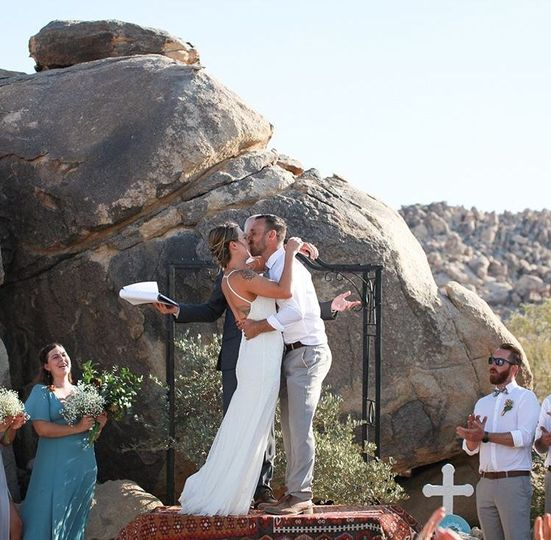 Joshua's Tree weddinf
