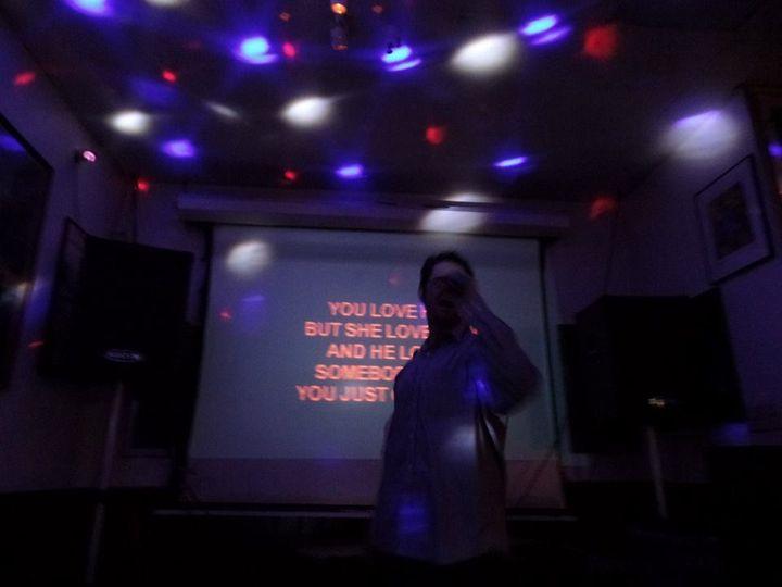 Karaoke session
