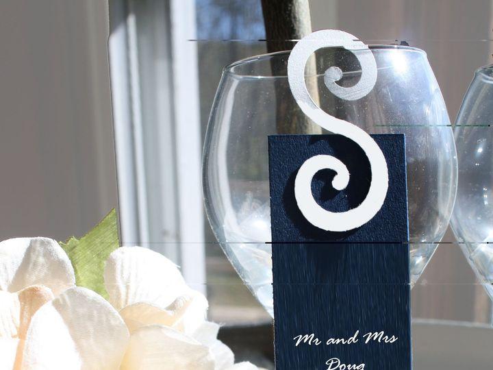 Tmx 1420314178940 Blue And White Place Cards Leesport wedding invitation