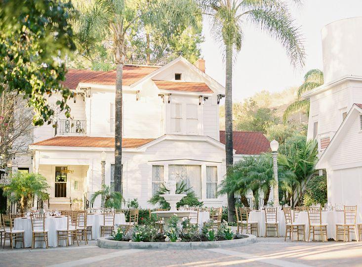 Victorian Estate Courtyard