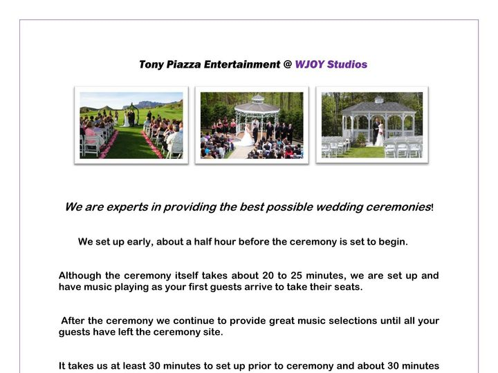 Tmx Ceremony Master Page 1 51 658803 1565551365 Wilkes Barre, PA wedding dj