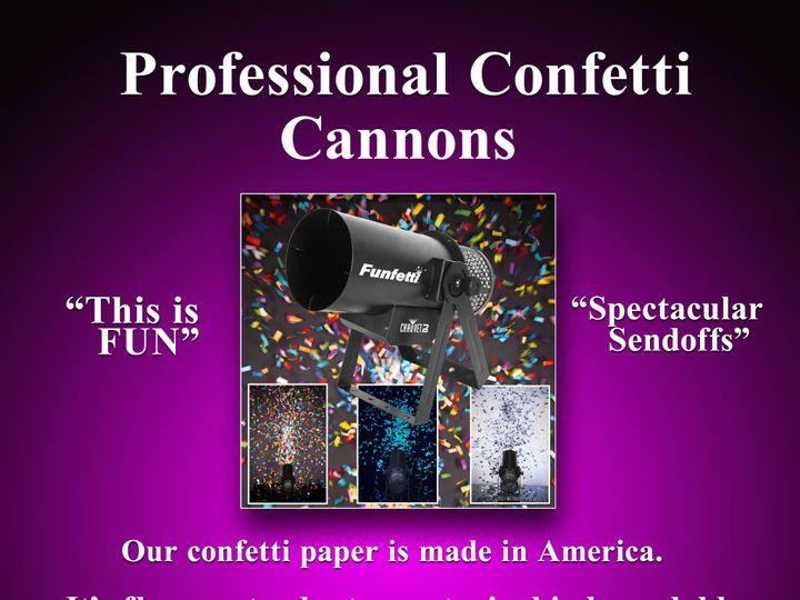 Tmx Confetti Canons 3 51 658803 1565551340 Wilkes Barre, PA wedding dj