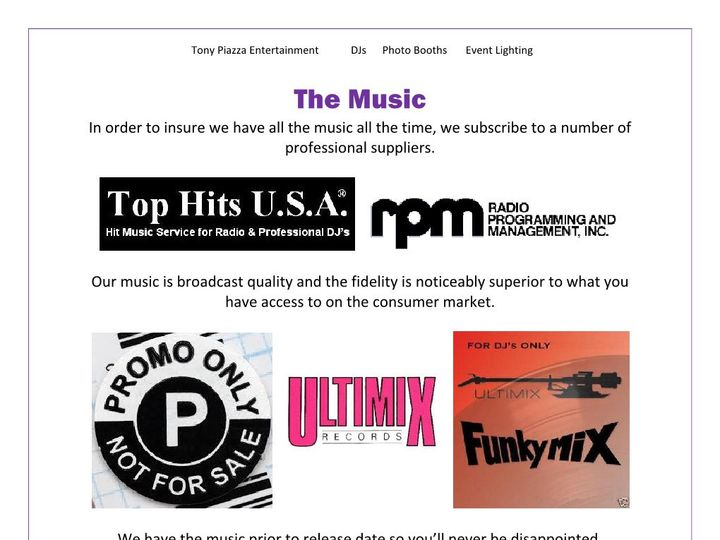 Tmx The Music 5 Page 1 51 658803 1565551354 Wilkes Barre, PA wedding dj