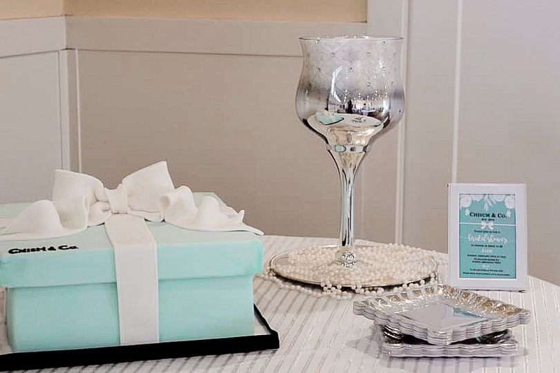 Tiffany's themed bridal shower