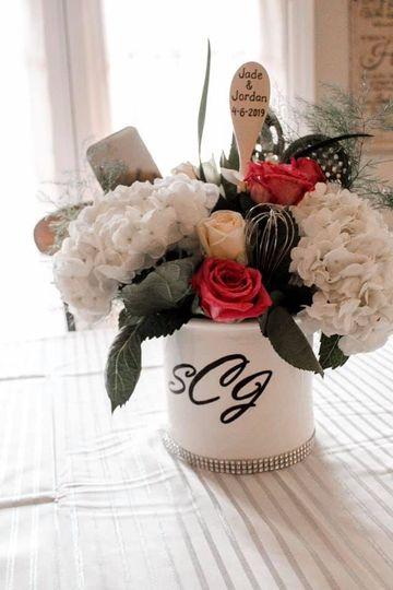 Wedding flower creation