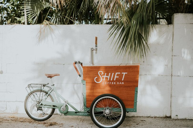 Shift Coffee Bar trike