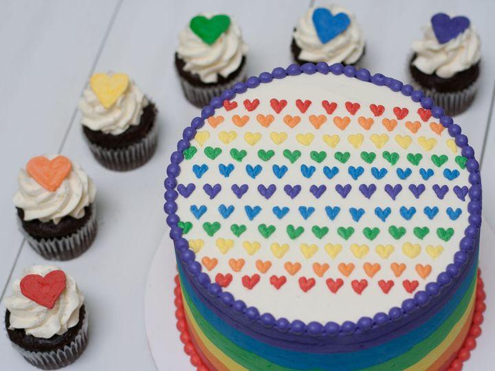 Tmx 1520102826 Ac33e6c94d0d977d 1520102824 373b67a204c0eca8 1520102818999 13 Pride Cake 4 Portland, OR wedding cake