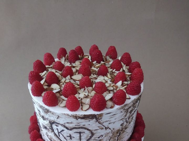 Tmx Two Tier Birch Tree Cake With Fresh Raspberries And Almonds 51 1000903 Portland, OR wedding cake