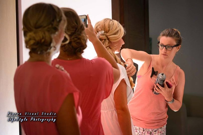 Sarah Garnier Hair and make up is the professional hairdresser and make up artist company in the...