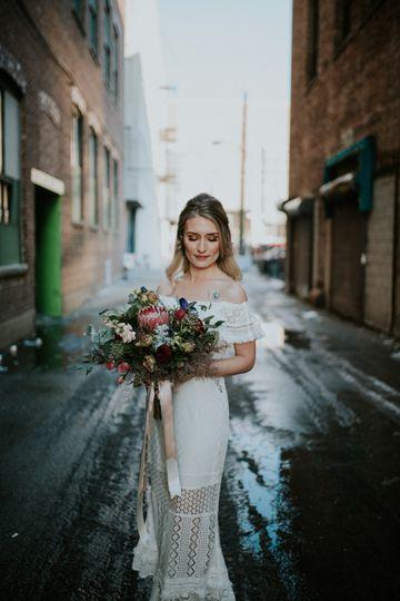 Wedding portrait - Steven Michael Photography