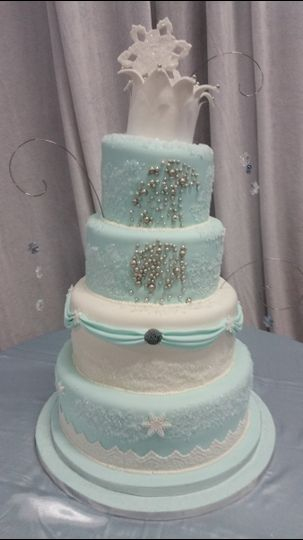 Adina S Cakery Wedding Cake Florida Miami Ft