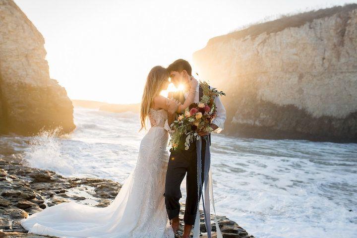 Sunset wedding