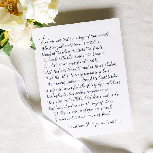 Love poem for a wedding