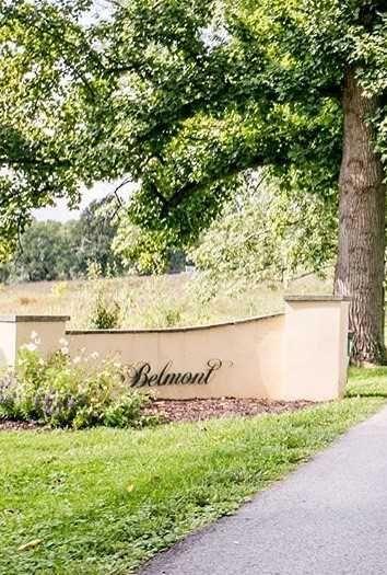 """Belmont"" sign"