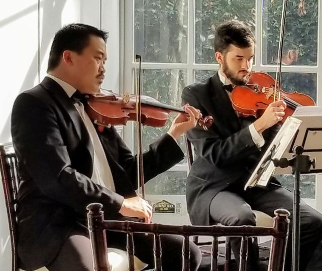 Duo of musicians