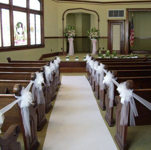 A view of the altar and aisle.