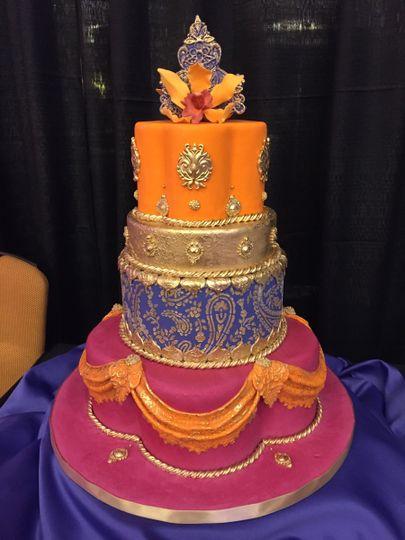 Mediterranean style cake
