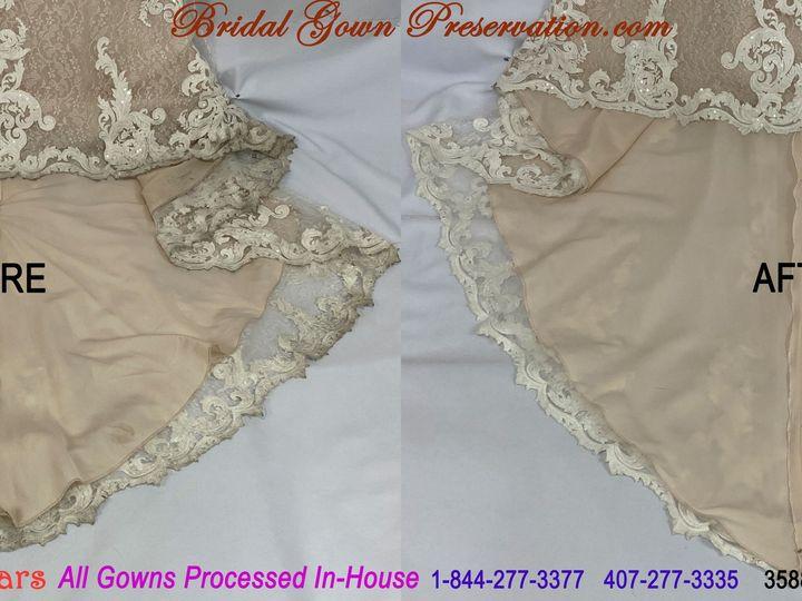 Tmx 69961 Brittany Johnson Wedding Gown Cleaning Beforeafter 01 2021 51 1004903 161223384849740 Orlando, FL wedding dress