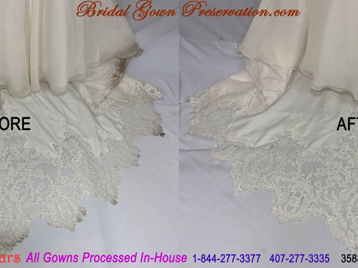 Tmx 69962 Kelsey Bell Wedding Gown Cleaning Beforeafter 01 2021 51 1004903 161223384924590 Orlando, FL wedding dress