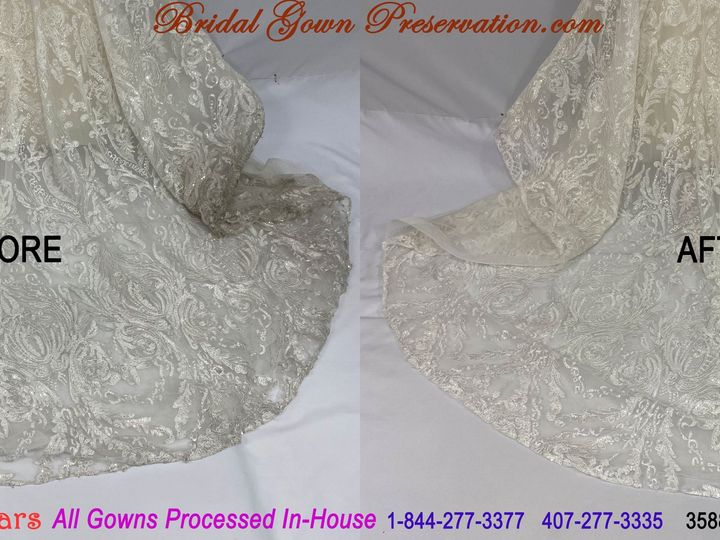 Tmx 69969 Jennifer Pecoraro Wedding Gown Cleaning Beforeafter 01 2021 51 1004903 161223383455241 Orlando, FL wedding dress
