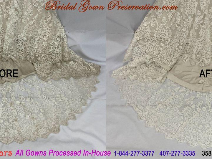 Tmx 69973 Jessica Sosa Wedding Gown Cleaning Beforeafter 01 2021 51 1004903 161223383374378 Orlando, FL wedding dress