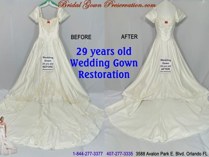 Tmx 69980 Jolene Crossman 29 Years Old Wedding Gown Restoration 01 2021 51 1004903 161392680189472 Orlando, FL wedding dress