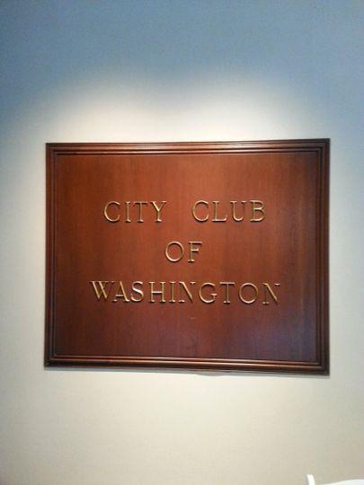 City club of Washingotn