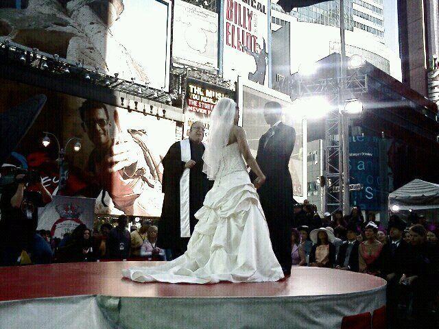 Royal Wedding Times Square