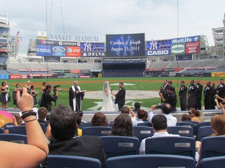 Home plate Yankee Stadium