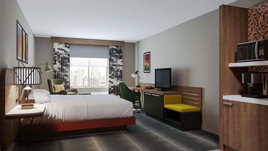 King room rendering - overview