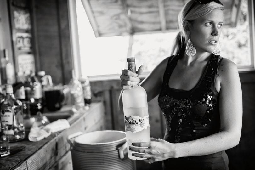Bartender package with Tara bartender  Mark Twain event home outside tiki bar  Corolla