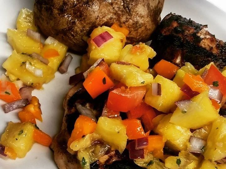 Tmx 1436854790880 Jerk Grilled Chicken With Pineapple Salsa 1 2015 Jarvisburg, NC wedding catering