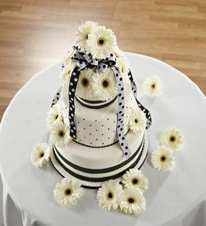 Simple sophistication cake decor