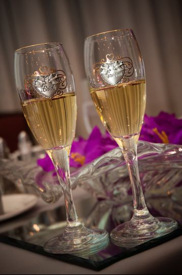 Couples Champagne Toast