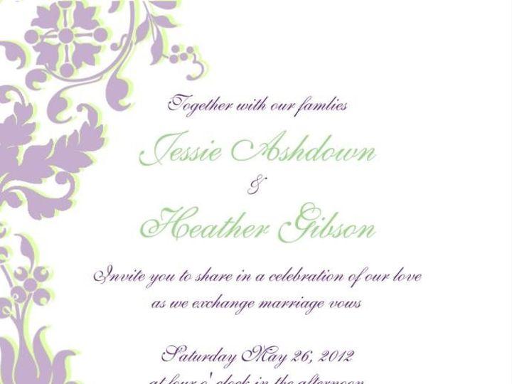 Tmx 1341529152098 581325327031404044040218717617n Vista wedding invitation